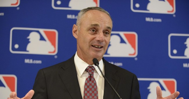 Manfred says free agents on market due to supply vs demand