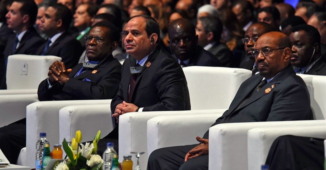 Egypt's president opens Africa investment conference