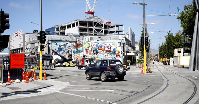 5 years after quake, New Zealand city's heart still missing