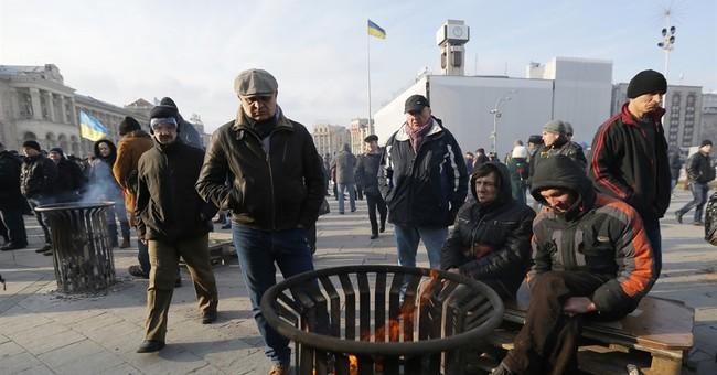 Ukrainian nationalists rally in Kiev, demand govt's ouster
