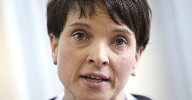 German nationalist leader rejects criticism of rhetoric