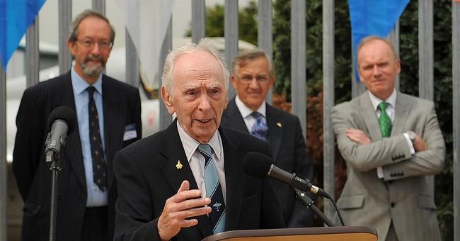 Record-setting British pilot Eric 'Winkle' Brown dies at 97