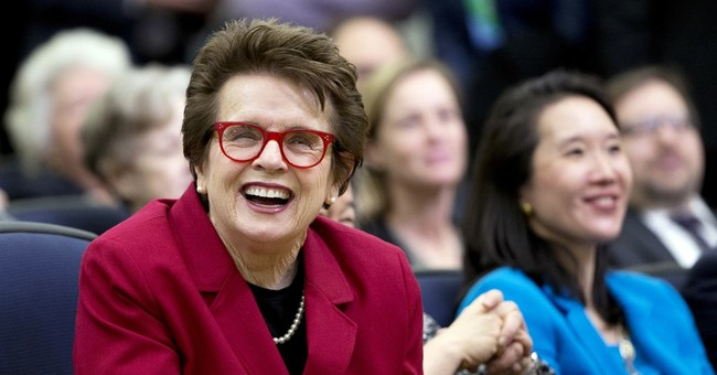 Billie Jean King serves as star in 'Fresh off the Boat'