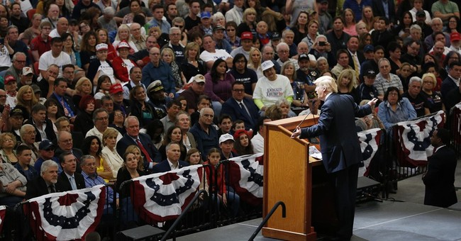 The Latest: Trump argues caucus system leaves people puzzled