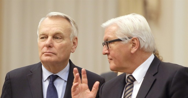 German, French foreign ministers anxious about Ukraine