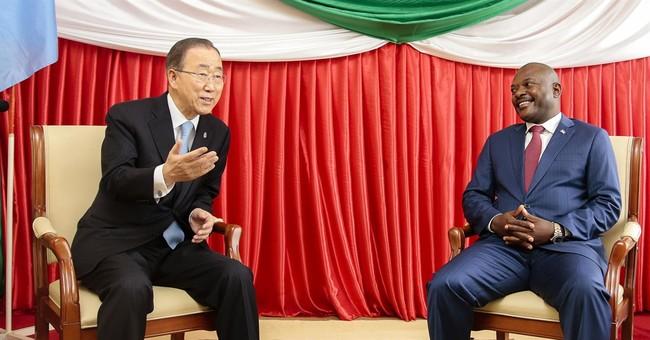 UN chief: Burundi leader promises to release 2,000 prisoners