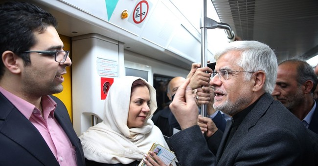 Iran's top reformist election candidate hits campaign trail