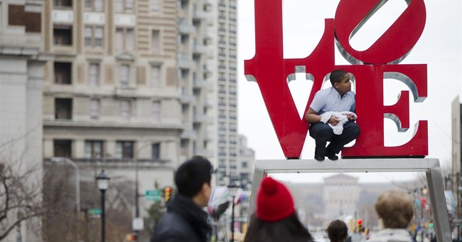 Where is the 'LOVE?' Philadelphia sculpture moved for rehab