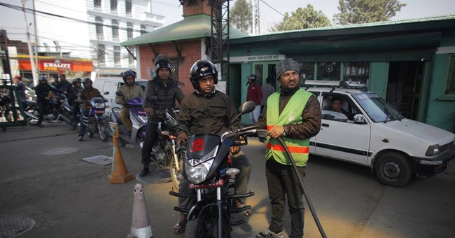 Nepalese cheer as fuel rationing ends after 5 months