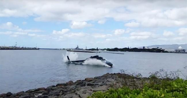 Report: Hawaii chopper pilot initially eyed landing on grass
