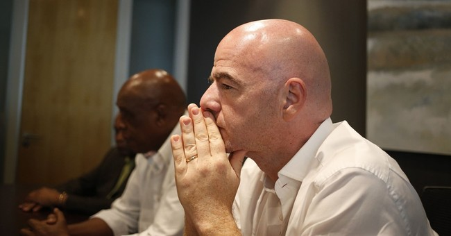 AP Interview: Infantino says he'll boost, not bankrupt, FIFA