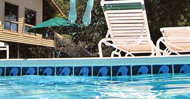 Leaping dogs take the meaning of Leap Year to a new level
