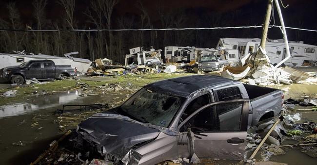 Powerful storm kills 4 in Virginia, raising death toll to 8
