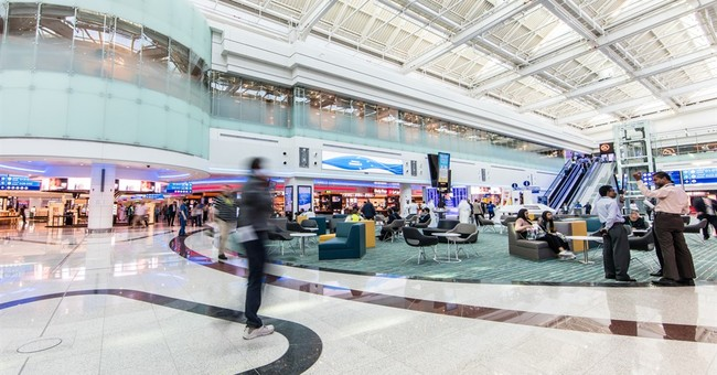Dubai airport expands again with opening of new concourse