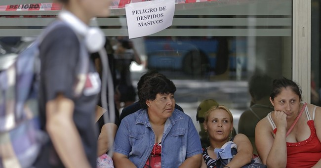 Public workers strike in Argentina to protest firings