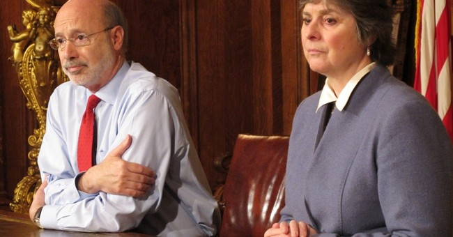 Pennsylvania governor says he has treatable prostate cancer