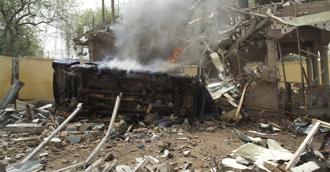Explosion at police HQ in northeast Nigeria kills 4