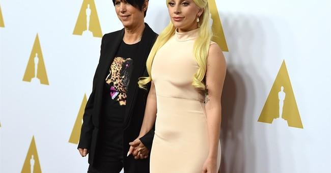 Joe Biden: Live from LA, introducing Lady Gaga at the Oscars