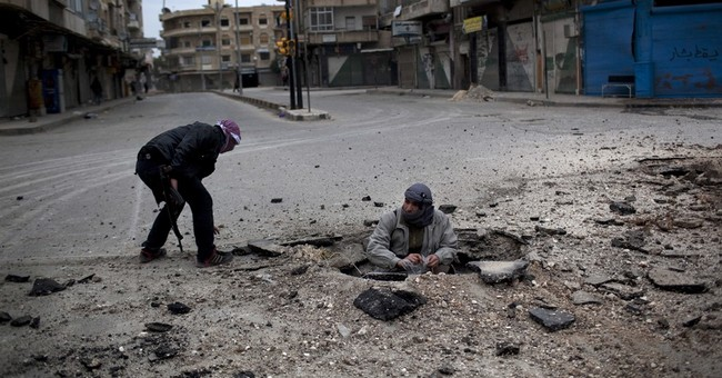 Syrian army recaptures town in Aleppo province from IS group