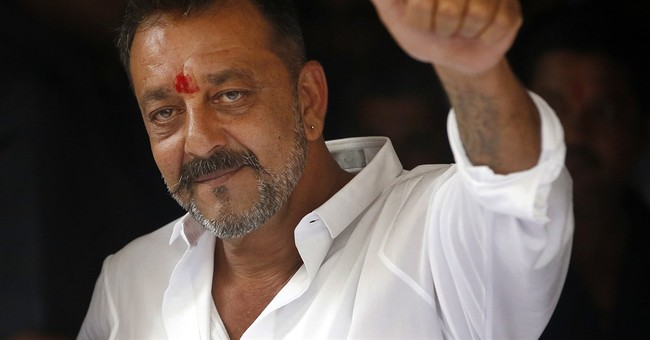 Bollywood actor Sanjay Dutt freed from jail in weapons case