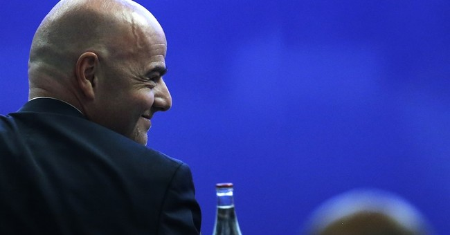 The Latest: Kofi Annan ready to help reform FIFA
