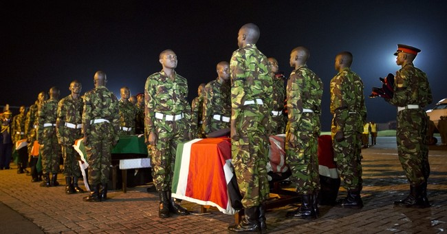Somali president: Attack killed at least 180 Kenyan soldiers