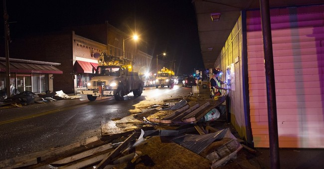 The Latest: Virginia tornado had winds of up to 165 mph
