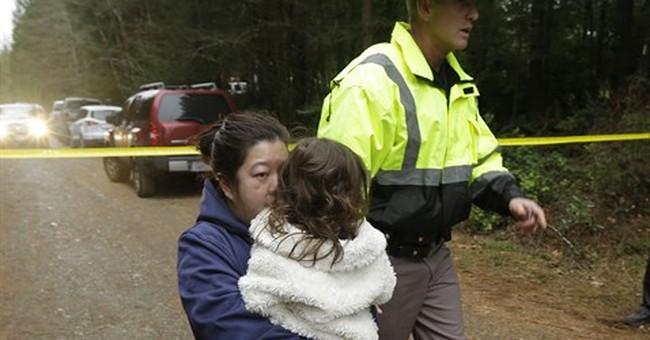 The Latest: Police flushed Washington killer from house
