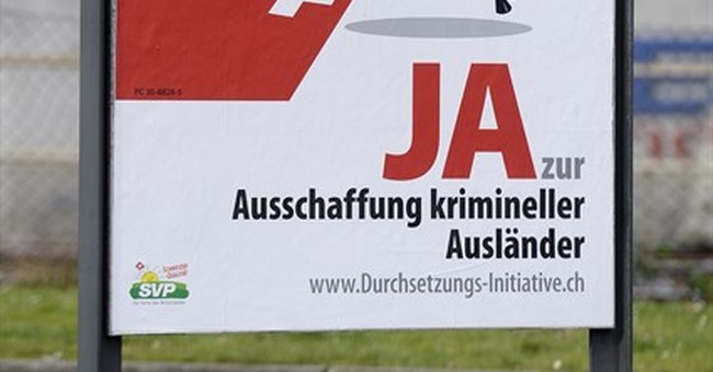 Swiss to vote on automatic expulsions of criminal foreigners