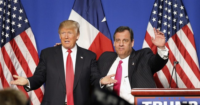 Time for Christie to eat his harsh words about Trump