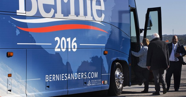 Sanders' Super Tuesday focus evident in travel outside South