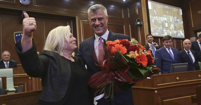 Kosovo Parliament elects Hashim Thaci as new president