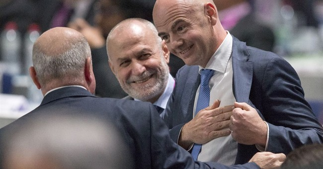 Soccer's world body elects Gianni Infantino as president