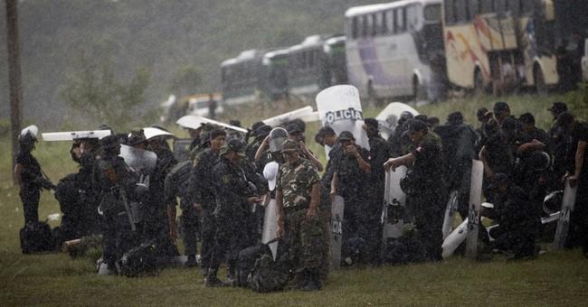 AP PHOTOS: Raids on illegal mining camps target brothels