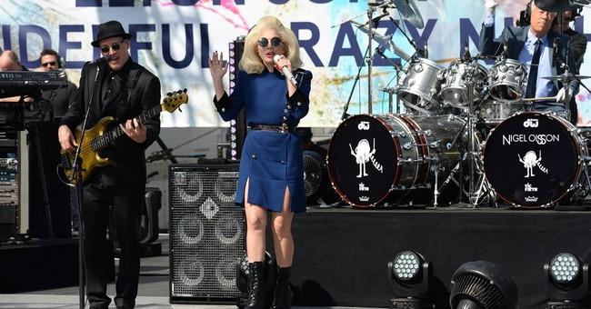 Elton John, Gaga give surprise concert day before Oscars
