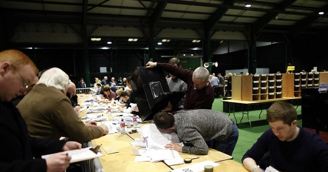 The Latest: Irish confirm national popular vote in election