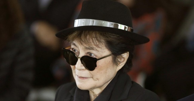Rep: Yoko Ono hospitalized for flu symptoms, but on the mend