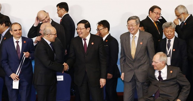 Global finance officials promise to shore up sagging growth