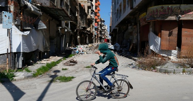 Syria's onetime 'capital of the revolution' now a ghost town