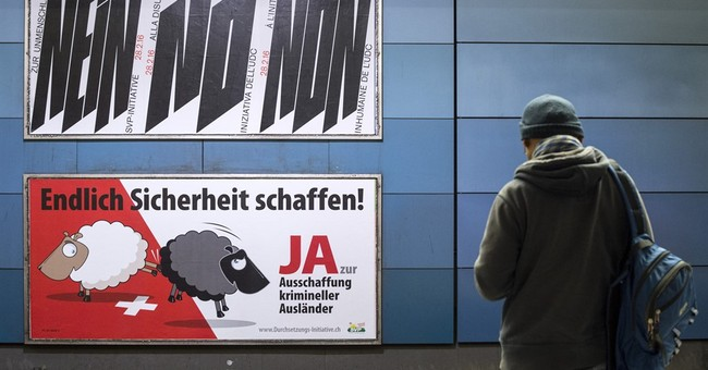 Swiss reject plan to automatically expel foreign criminals