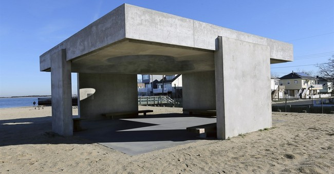 Town seeks to remove Superstorm Sandy monument from beach
