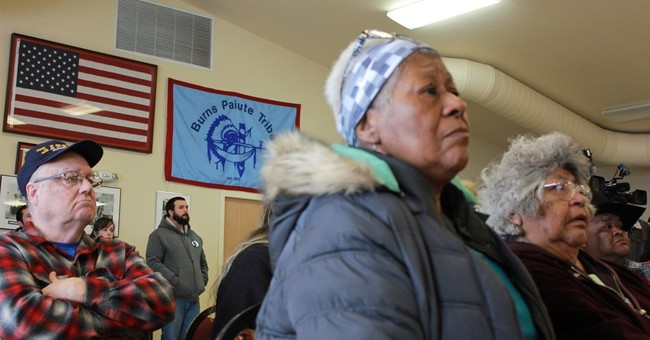 Oregon tribe: Armed group 'desecrating' their land