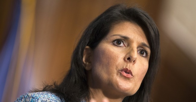 Haley's response to Obama not 1st time on national stage