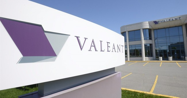 Valeant's stock plunges 18 pct as company's headaches mount