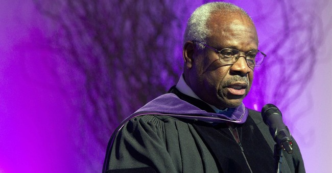 Justice Thomas asks questions in court, 1st time in 10 years
