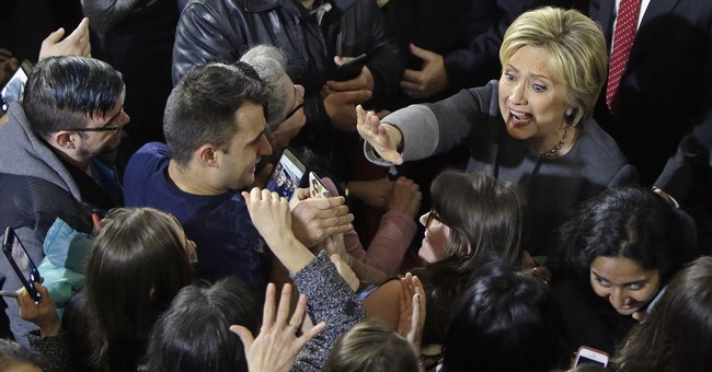 Clinton focuses on general, while Sanders sticks to script