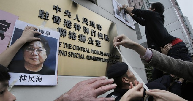Missing Hong Kong bookseller resurfaces in TV interview