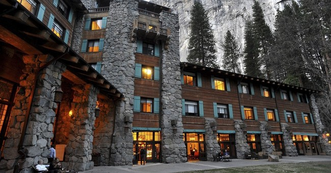 The Latest: Yosemite sign stolen on eve of name change