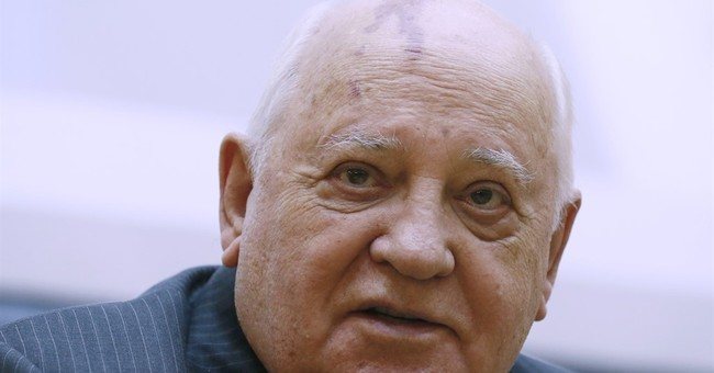 Gorbachev presents new book about his life and times