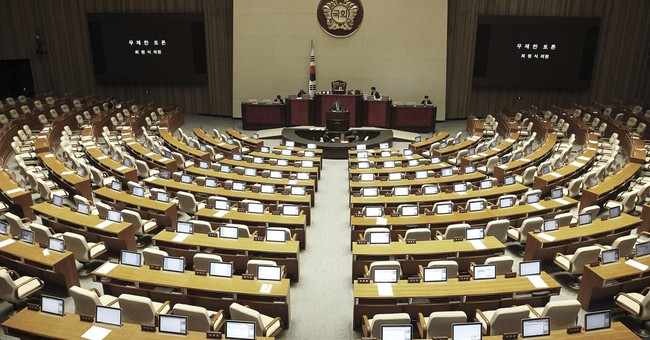 Image of Asia: Filibustering for a 7th day in South Korea